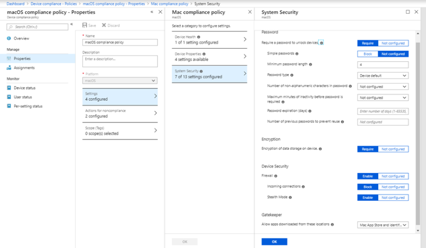 Intune MacOS management capabilities – Mobility, Management
