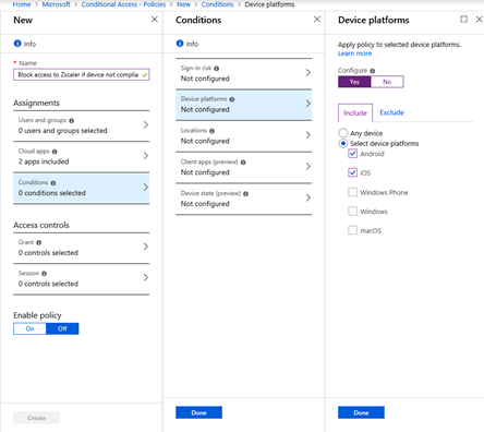Intune, Azure AD, and Zscaler Private Access – Mobility, Management